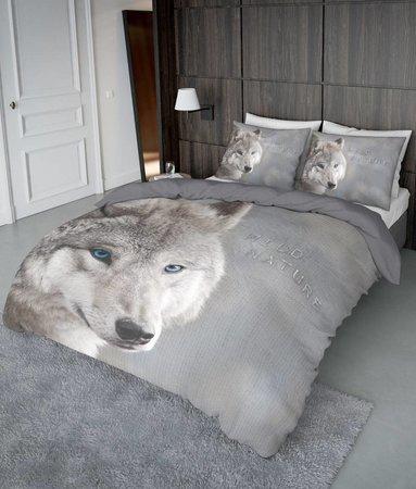 Nightlife Concept Weiss Wolf - DE - 160x200 - 70x90 (2) mit Reissverschluss