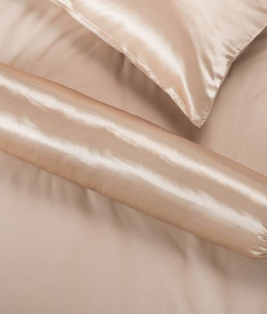 Nightlife Silk Silk Satin Polster Braun