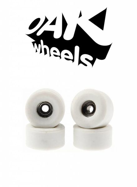 Oak Wheels Bowl White