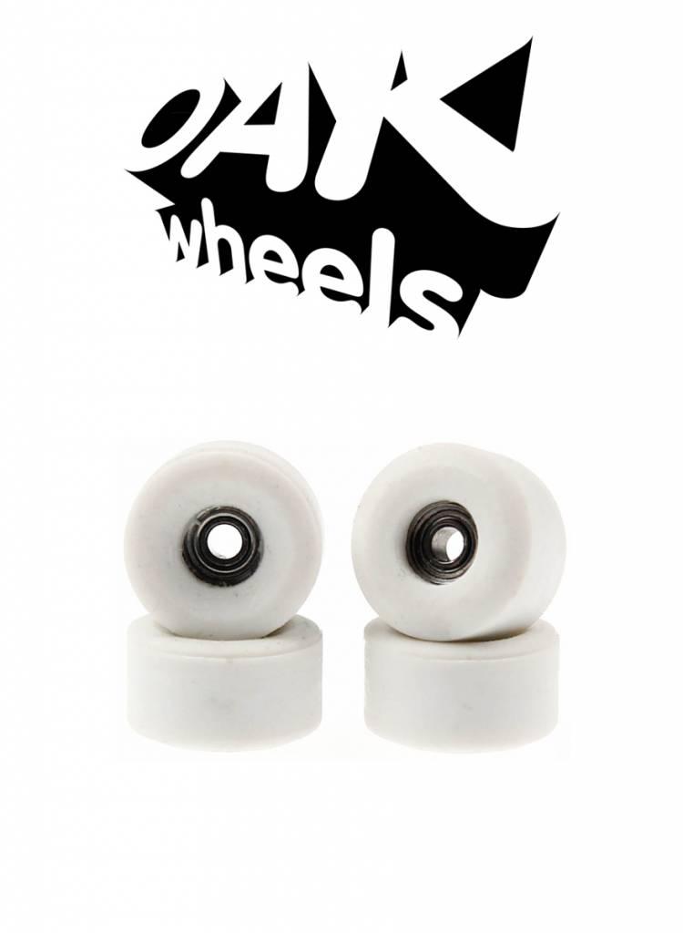 Oak Wheels Bowl White