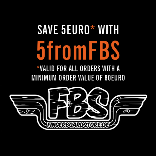 Use our free 5 Euro discount code 5fromFBS