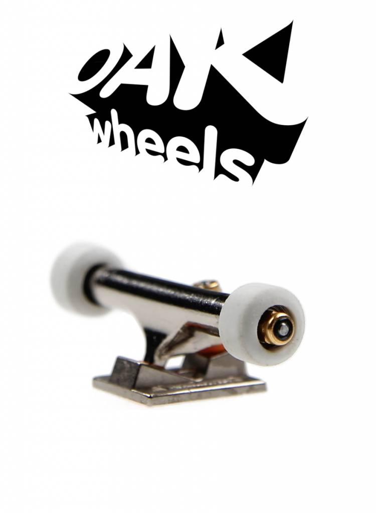 Oak Wheels Mini White