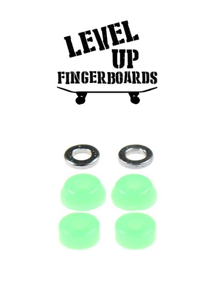 LevelUp Beta Bushings Flourescent Green