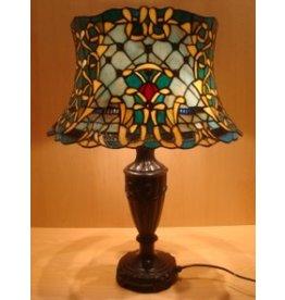 RoMaLux RML- 5625 Tiffany Tafellamp