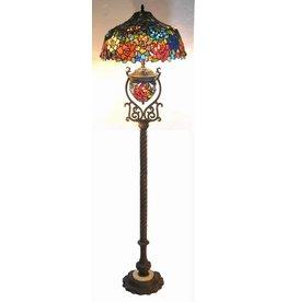 RoMaLux RML- 7627 Tiffany Vloerlamp
