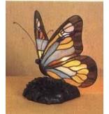 RoMaLux Tiffany Tafellamp Vlinder