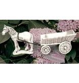 Demmerik 73 A017 Paard + kar