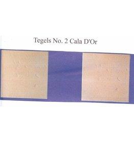 Demmerik 73 Terrastegel Cala d'or zalm - prijs per m2