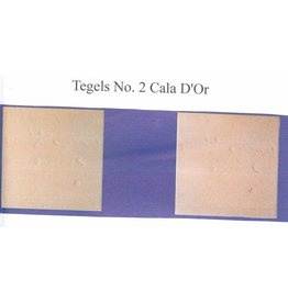 Demmerik 73 Terrastegel Cala d'or Tosca - prijs per m2