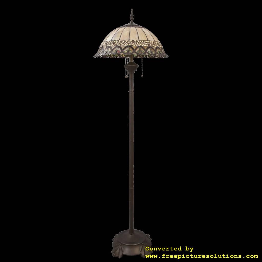 Demmerik 73 5681 Tiffany vloer  lamp