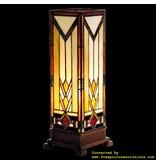 Demmerik 73 9331 Tiffany Tafel lamp