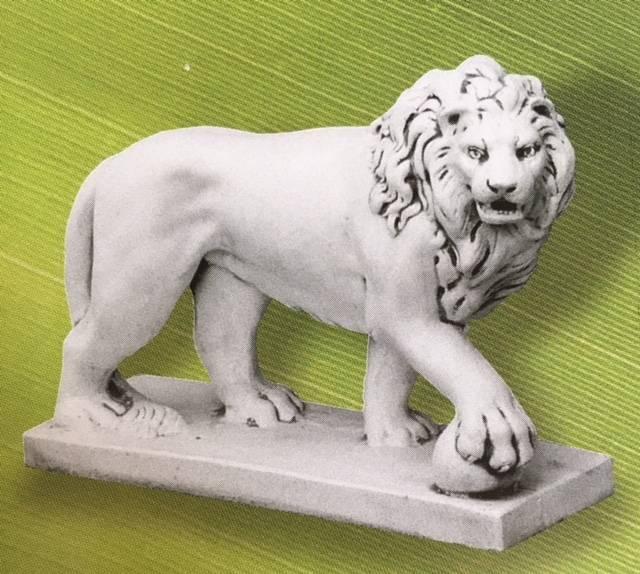Demmerik 73 SL165 Leeuw met bal rechts