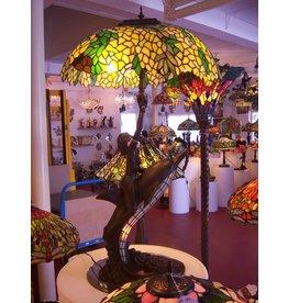 RoMaLux 5237  Tiffany lamp Dolfijn