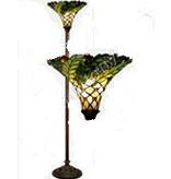 RoMaLux 7651 Tiffany vloerlamp