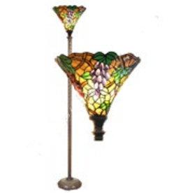 RoMaLux 7652 Tiffany vloerlamp