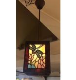 RoMaLux 7486 tiffany hanglampje