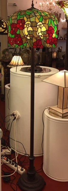 RoMaLux 7656 Tiffany vloerlamp