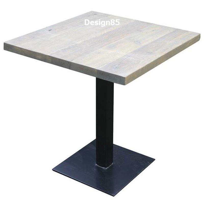 Horeca tafel met eikenhout   Design85