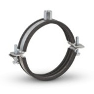 Metalen beugel mer rubber ø280