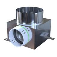 PE-FLEX INOX Ventielcollector 1x toevoer