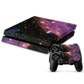 PS4 Skins Console - Supernova Purple