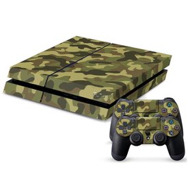 PS4 Skins Console - Military Camo