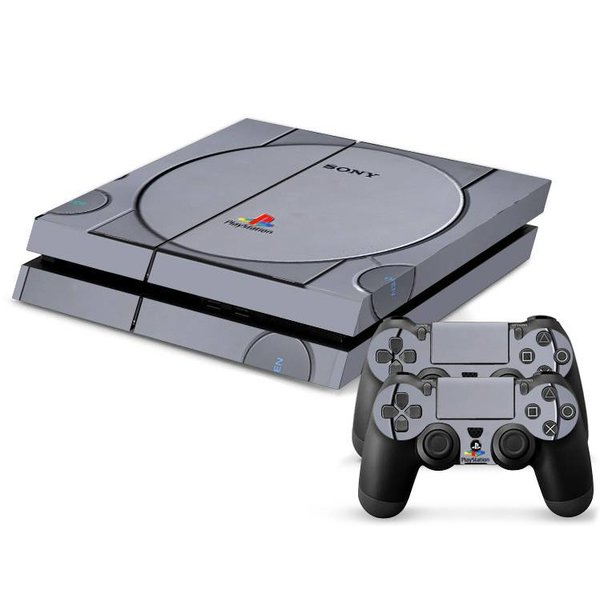 PS4 Skins Console - Retro Playstation