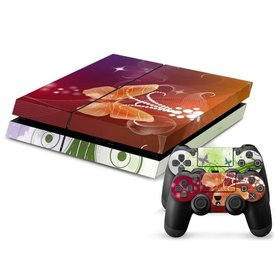 PS4 Skins Console - Butterfly