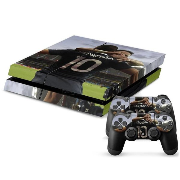PS4 Skins Console - Football Player Benzema