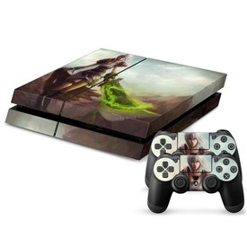 PS4 Skins Console - League Of Legends Riven