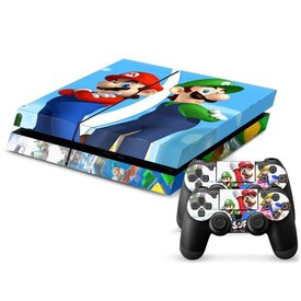 PS4 Skins Console - Super Mario And Luigi