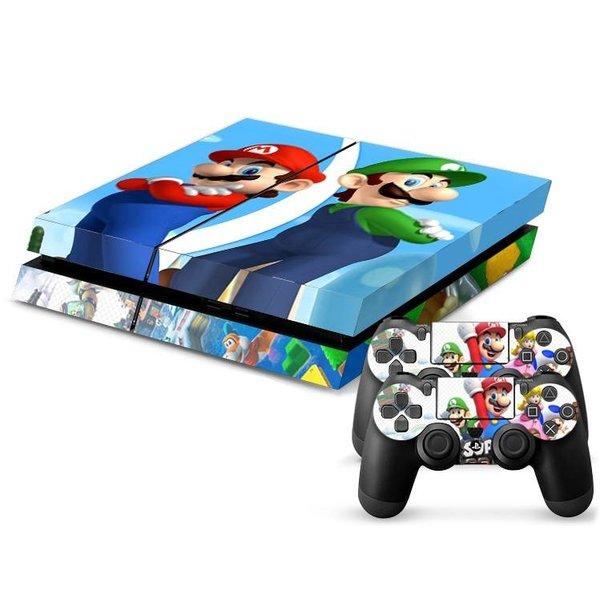 PS4 Skins Console - Super Mario And Luigi