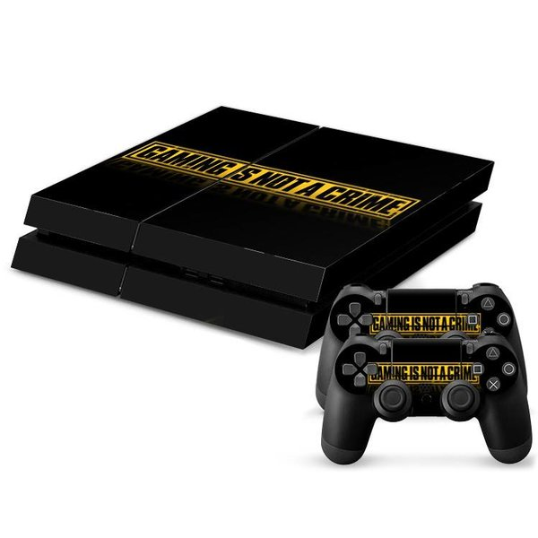 PS4 Skins Console - Gaming Is Not A Crime