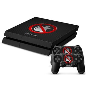PS4 Skins Console - Anti Apple