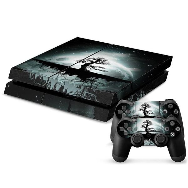 PS4 Skins Console - Moon Tree