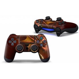 PS4 Skins Controller - Red Dragon