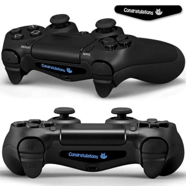 PS4 Skins Lightbar - Congratulations