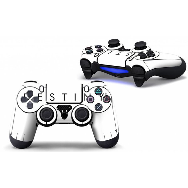 PS4 Skins Controller - Destiny White