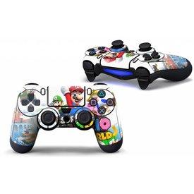 PS4 Skins Controller - Super Mario And Luigi