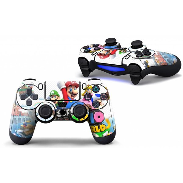 PS4 Skins Controller - Super Mario And Luigi