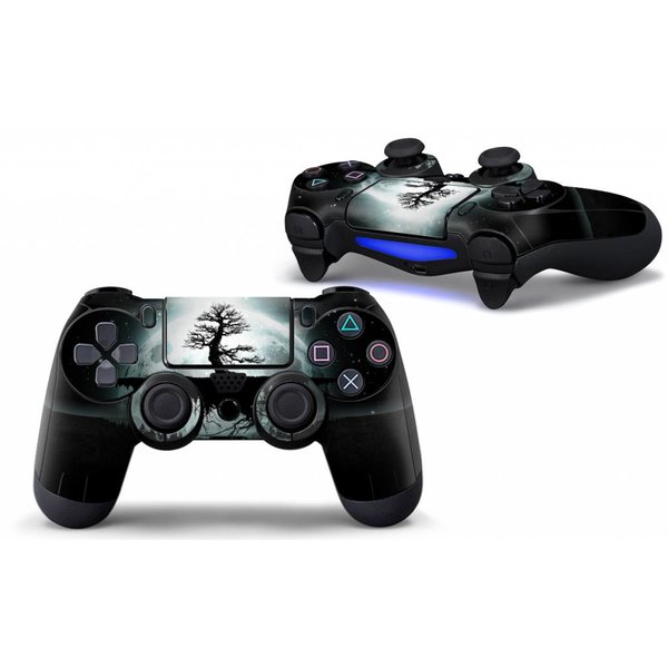 PS4 Skins Controller - Moon Tree