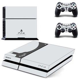 PS4 Skins Premium - Batman White