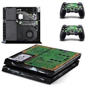 PS4 Skins Premium - Broken PS4