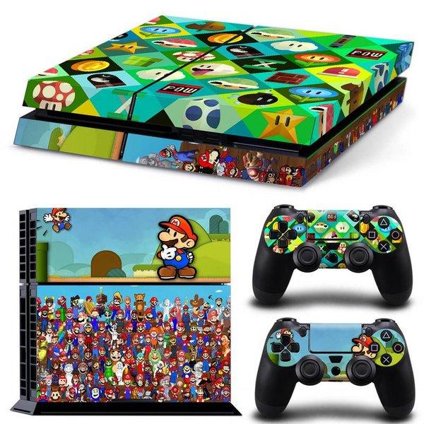 PS4 Skins Premium - Mario