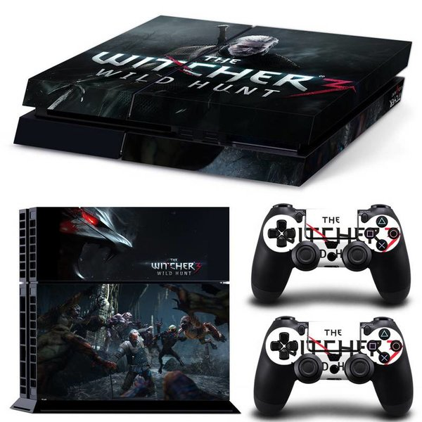 PS4 Skins Premium - The Witcher 3
