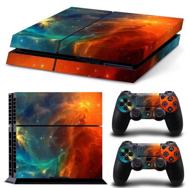 PS4 Skins Premium - Universe Orange
