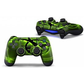 PS4 Skins Controller - Biohazard Green (2)