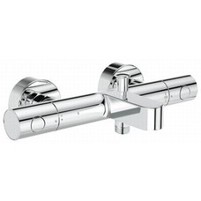 Grohe Grohtherm 1000 Cosm.M badthermostaat 15 cm. m/omstel m/kopp. chroom 34215002