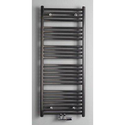 Badkamer radiator 1800 x 600 antraciet 5 jaar garantie - De ...