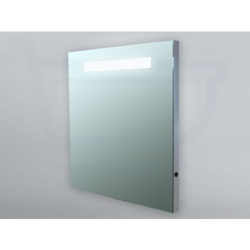 spiegel 120 x 70 cm aluminium met indirecte verlichting de sanitairstunthal. Black Bedroom Furniture Sets. Home Design Ideas